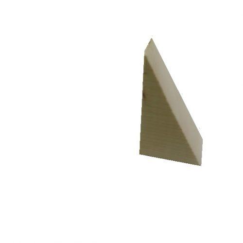 Ξύλινες  γωνίες 8,5(Υ)x5(Β)x3,8(Πάχος)